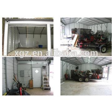 Pre-engineered Light Frame Steel Structure Garage for four cars