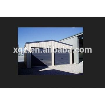 Prefabricated Light Frame Steel Structure Garage for two car