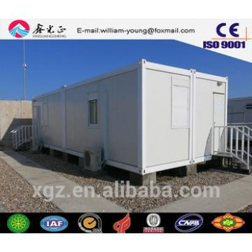 China supplier on Steel structure prefabricated tiny house , flat pack container house