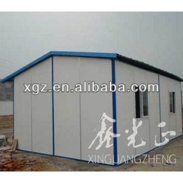 Sandwich panel prefab house living quarters for staff and workers