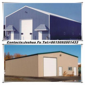 Designed galvanized steel frame and sandwich panel insulated warehouse