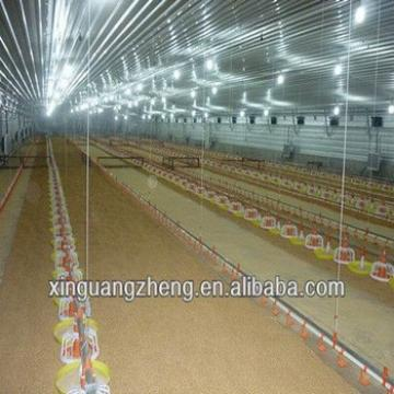 prefabricate steel structure large chicken houses