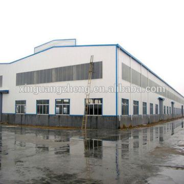 large span industrial steel frame structure building