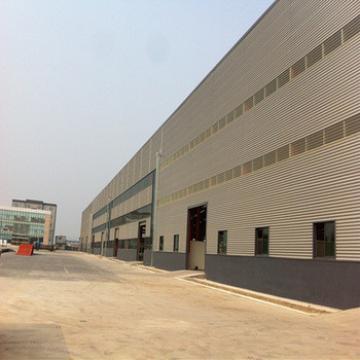 Portal frame steel structure workshop/warehouse turnkey project supplier