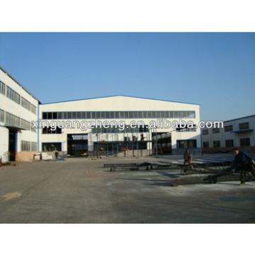 prefab light structural steel frame warehouse construction