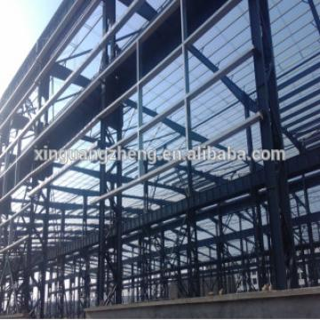 low cost prefabricated shed steel shade structure easy assembled warehouse