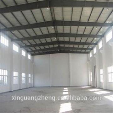 light steel structure godown with sandwich panel
