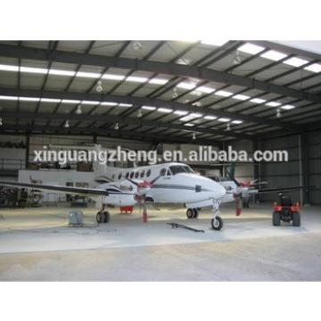 construction large span prefabricate modular cheap aircraft hangar