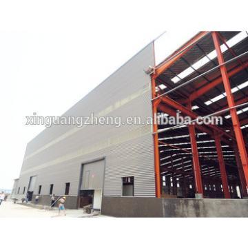 construction prefabricate large span waterproof steel storage shed