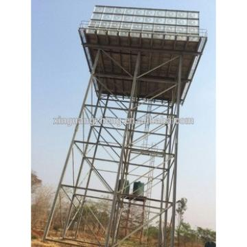 Water tank tower for Africa area
