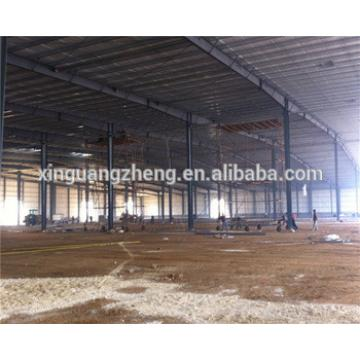 large span steel logistic storage warehouse with firewall