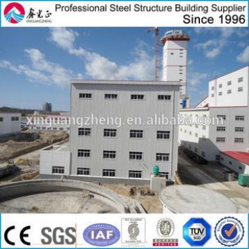 prefabricated new construction multi storey steel warehouse