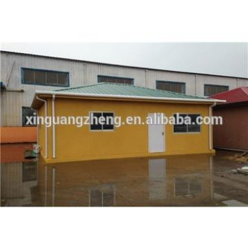 fast construction light galvanized steel frame house