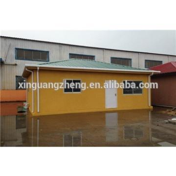 temporary popular single slope roof sandwich panel prefab house