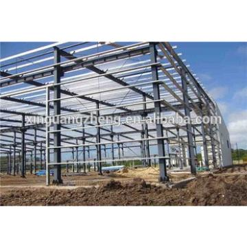 steel frame economic large span steel logistics warehouse