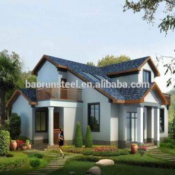 Real estate construction prefabricated houses with stable and safe steel structure