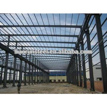 Flat packing prefabricated steel structure building for shopping mall