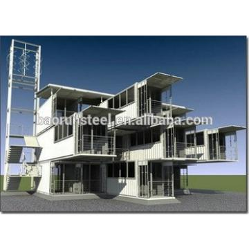 environmental material Green Prefabricated Container living house