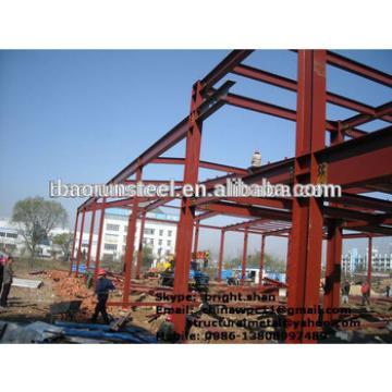 Eco-friendly demountable prefabricated steel structure buildings
