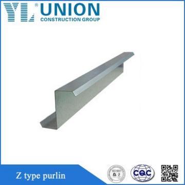 Z Purlin/Z Type Channel/Z Steel Channel For Building Materials