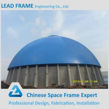 Large Span Steel Space Frame Ball For Coal Power Plant Storage