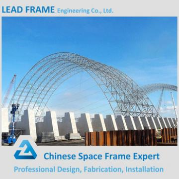 Light space truss structure steel arch building