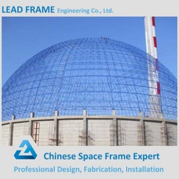 Fast Install Prefab Steel Structure Space Frame Coal Yard Limestone Shed Roof