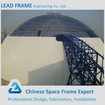 Hot Sale Prefab Steel Frame Dome for Coal Shed
