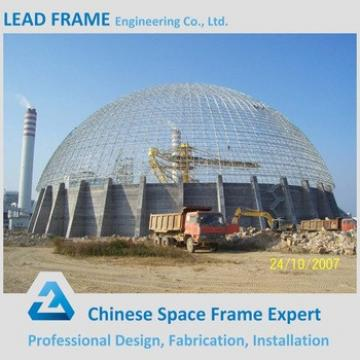 Large Span Stainless Steel Space Frame Bulk Material Storage