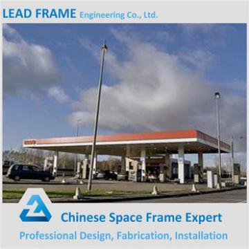 Light Space Frame Structure Service Station