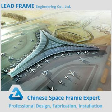 Large Span Prefabricated Airport Terminal Roof Truss Structure