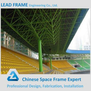 long span anti-rust space frame roof structure stadium bleachers