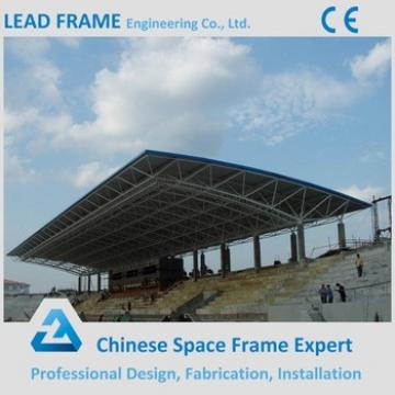 Prefabricated grandstand with steel structure design