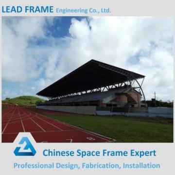 Wind-resistant Galvanized Space Frame Truss For Stadium Bleacher