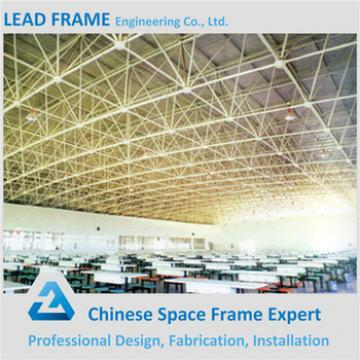 Wind Resistance Space Grid Frame Structure For Building