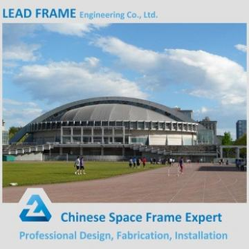Elegant appearance light steel space frame football stadium