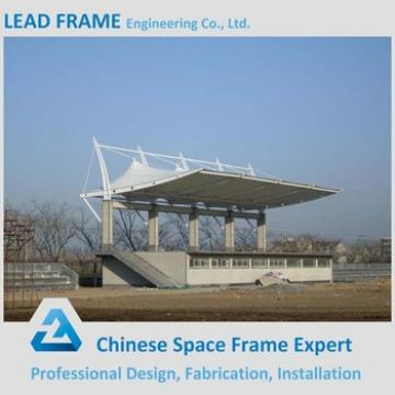 economical prefabricated light steel structure bleacher tent for sale