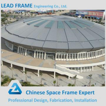 Light weight steel space frame prefabricated sport hall