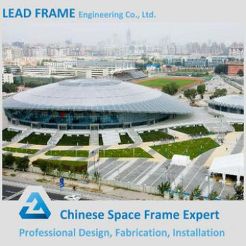 Galvanized steel structure football stadium roof
