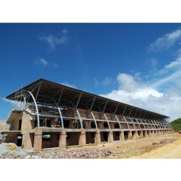 outdoor stadium bleachers steel roof trusses for sale