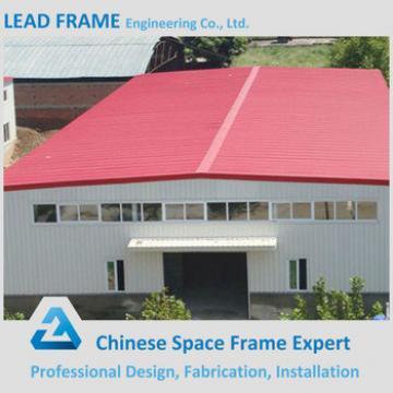 Galvanized Steel Roof Waterproof Shed Steel Structure Workshop