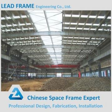 Roof Construction Light Steel Frame for Prefabricated Workshop