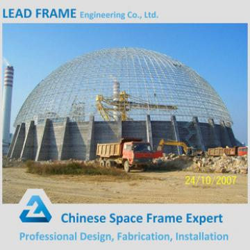 Galvanized Structural Steel Profiles For Circle Dome Coal Storage