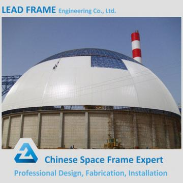 Elegant appearance coal power plant space frame building