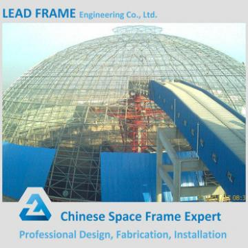 Low Cost Steel Space Frame Power Plant Coal Storage Prefabricated Building
