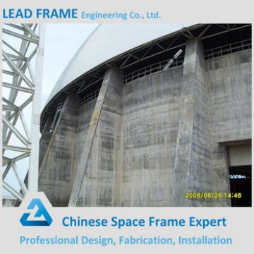 Prefabricated Metal Steel Structure Space Frame Dome Shed