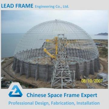 Large Span Space Frame Steel Structure Dome Sheds