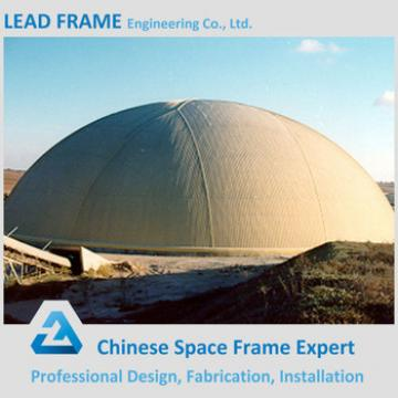 Galvanized Space Frame Dome Shed Roof Truss for Coal Storage
