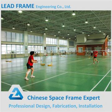 Windproof Light Weight Steel Space Frame Prefab Glass Dome Cover