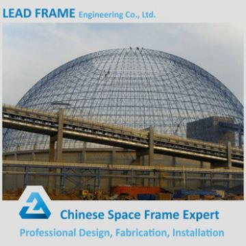 Architecture Design Sreel Frame Dome Storage Building for Coal Yard